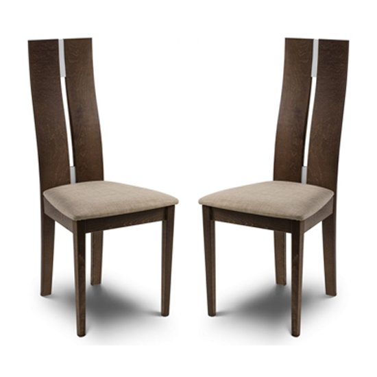 Cayman Solid Beech Dining Chair In Pair_1