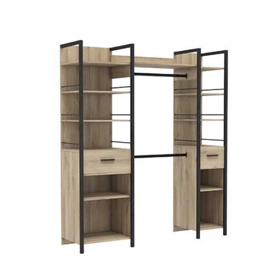 Celosia Wooden Extendable Storage Unit In Kronberg Oak