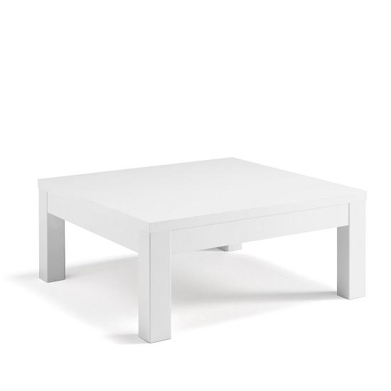 Tiffany White High Gloss Square Storage Coffee Table: Celtic Coffee Table Square In White High Gloss 30834