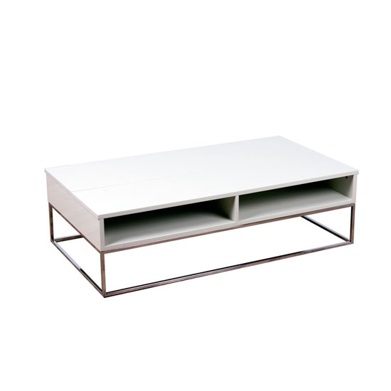 Centro Champagne High Gloss Motion Coffee Table