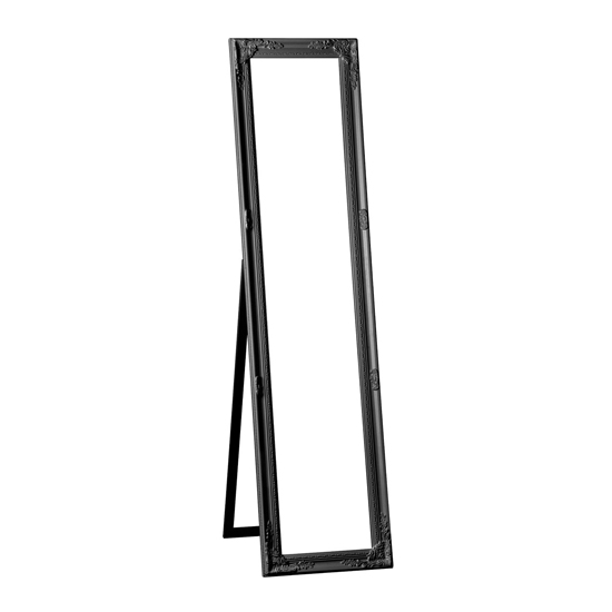 Chacota Vintage Floor Standing Dressing Mirror In Black