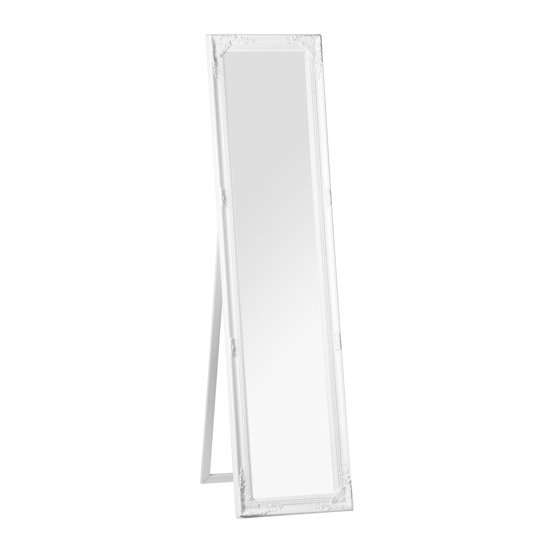 View Chacota vintage floor standing dressing mirror in white