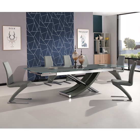 Buy our fabulous extending dining table sets in wooden, glass and high gloss