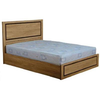 Carlo 4'6 Bed in Oak Veneer