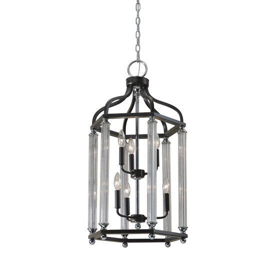 Chatsworth 6 Lights Lantern In Polished Chrome_1
