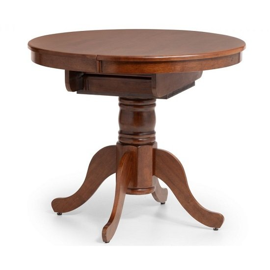 Chaumont Extending Dining Table In Mahogany Lacquered