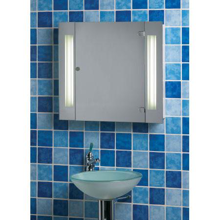lighted bathroom cabinet photos