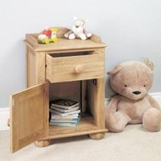 Childrens Bedside Tables & Cabinets In wood & high gloss