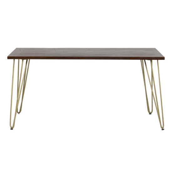 Chort Wooden Dining Table In Dark Walnut_2