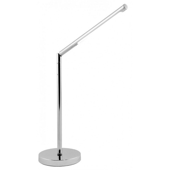 Product photograph showing Garry Led Desk Lamp In Chrome