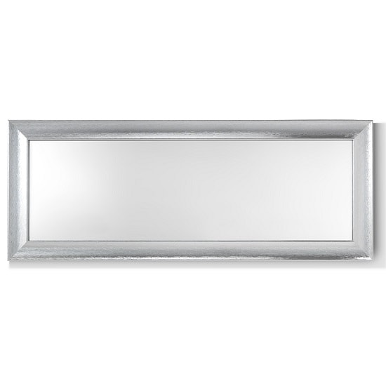 Claire Wall Mirror Rectangular In Steel Effect_2