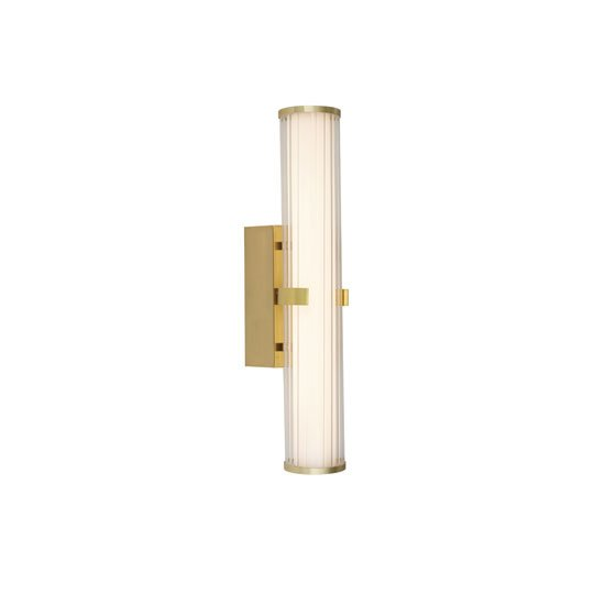 Clamp LED Small Wall Light In Gold_2