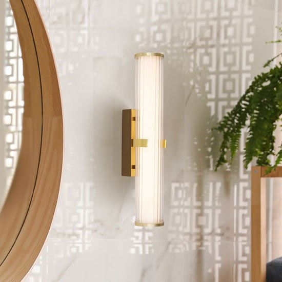 Clamp LED Small Wall Light In Gold