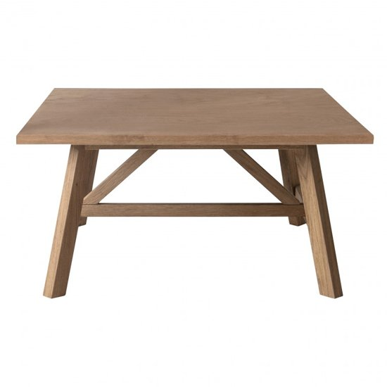 Clapham Wooden Coffee Table In Oak