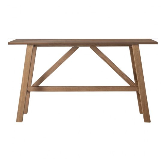 Clapham Wooden Console Table In Oak