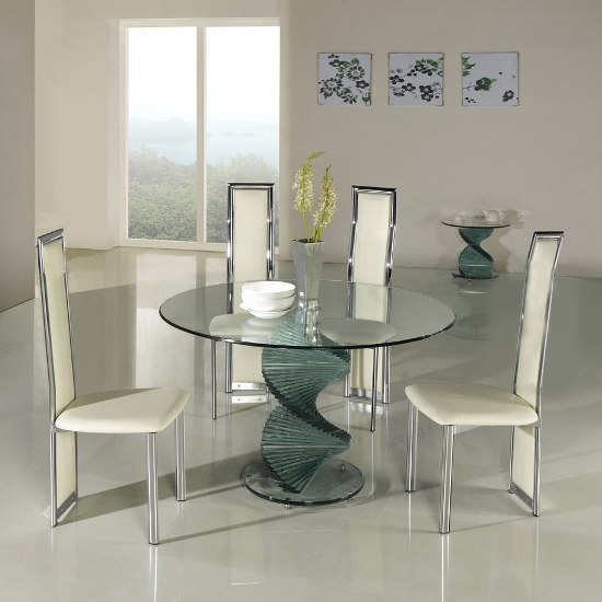 clear glass dining twirlclDing601 - The Benefits of Glass Dining Table and How To Maintain Its Beauty