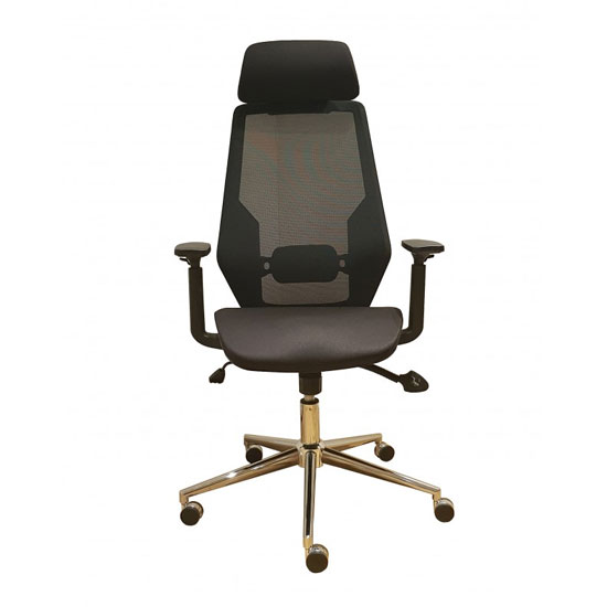 Clifton Home And Office Chair In Black Mesh_1