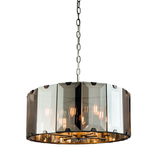 Clooney Wall Hung 8 Pendant Light