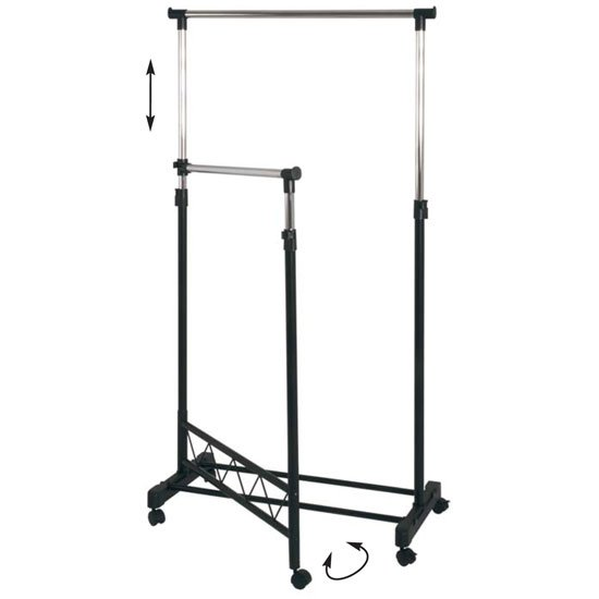 Read more about Kiki adjustable clothes railing