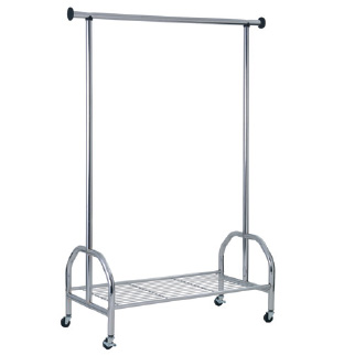 Read more about Stefano clothes railing in chrome