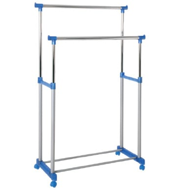 Poldi 2 Clothes Railing in Blue 44632
