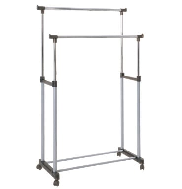 Poldi 2 Clothes Railing (Grey) 44732