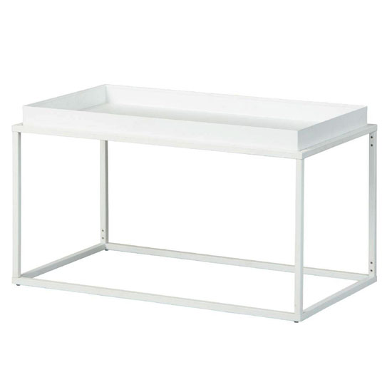 Club NY Metal Coffee Table In Snow White_2