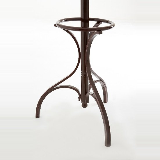 Floor Standing Wooden Coat Stand In Brown_2