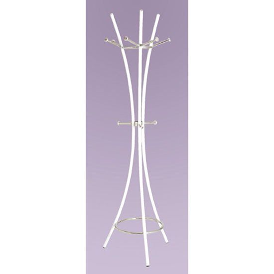 Kairo Coat Hat Stand In White
