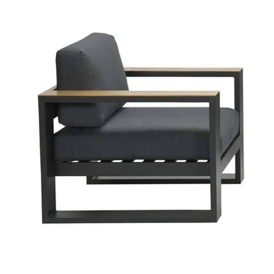 Cobe Armchair In Charcoal Metal Frame_4