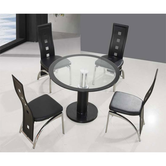 coma din 4man - Functional Small Kitchens with the Perfect Dining Table