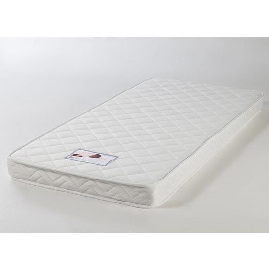 View Comfort care reflex foam single mattress in white