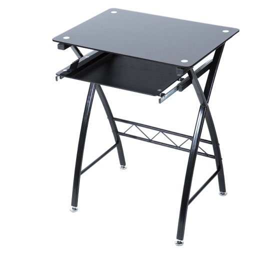 Glass puter Desks Furnitureinfashion UK