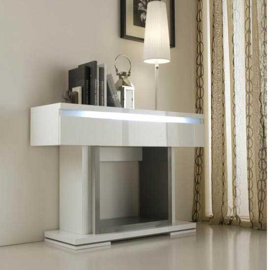 console with lights - Ultra Modern Furniture Design: The Most Popular Features