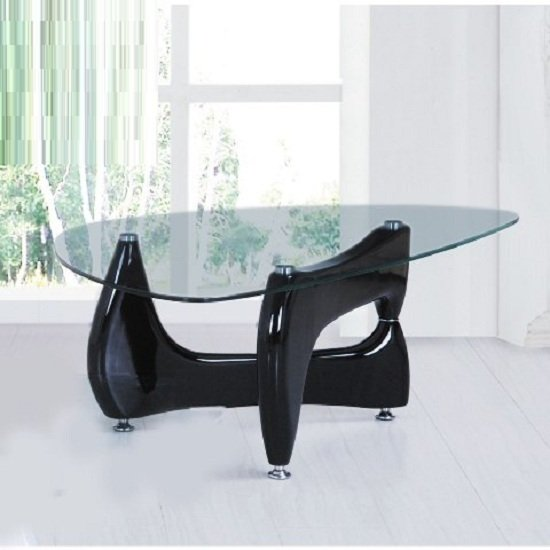 contemporary coffee table quebecct - Living Room Furniture: Black Gloss Decoration Solutions That Work