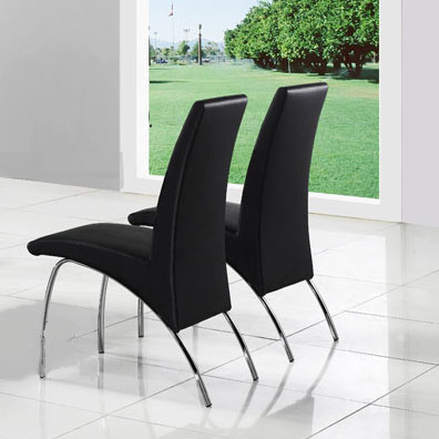 Renee Full Dining Chairs In Black
