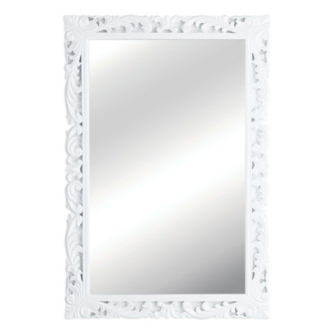White Framed Mirror Of White Framed Mirror Picture Of Frames