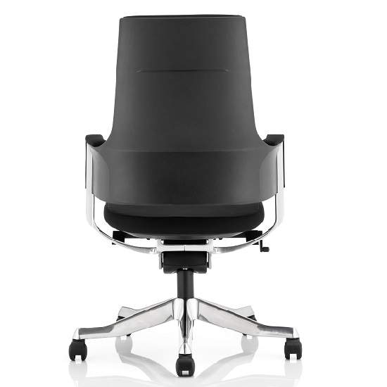 Cooper Office Chair In Black Fabric With Medium Back_2