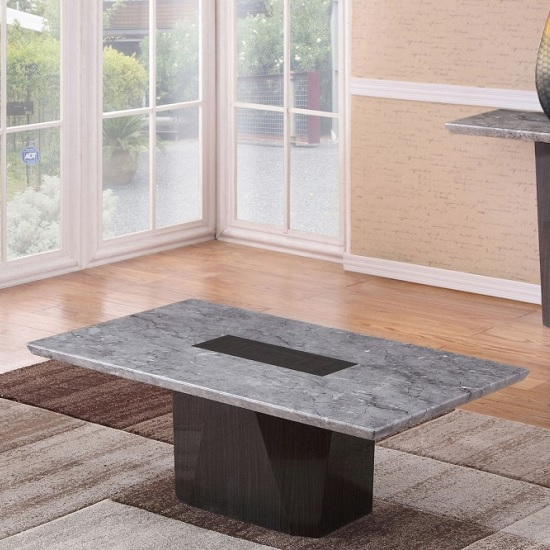 Kimball Marble Coffee Table: Copenhagen Marble Rectangular Coffee Table 28339 Furniture