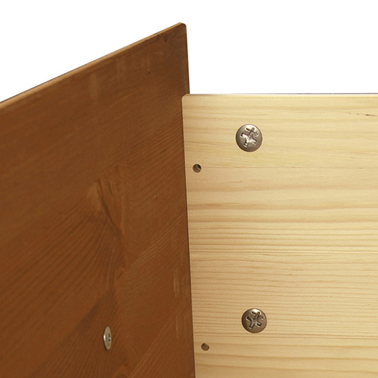 Copenham Narrow Chest Of Drawers In Pine With 5 Drawers_3