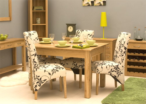 Artisan Wooden Small Dining Table Only In Oak