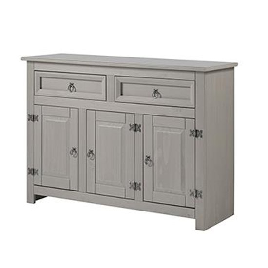 Product photograph showing Corina Compact Medium Sideboard With 3 Doors And 2 Drawers