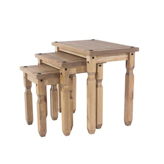 Corina Set Of 2 Nesting Tables In Oak