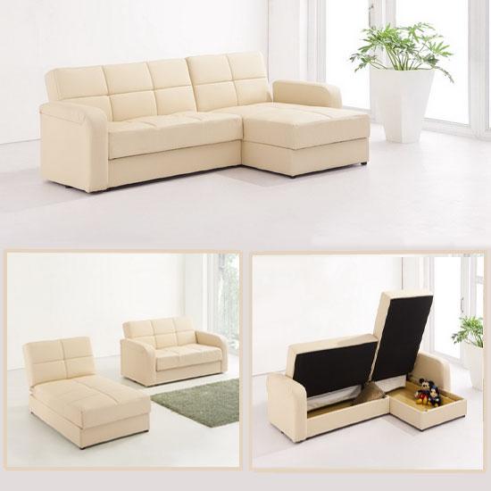 corner sofa bed cream floridaSofaCrm - Benefits of Sofas With Storage Spaces