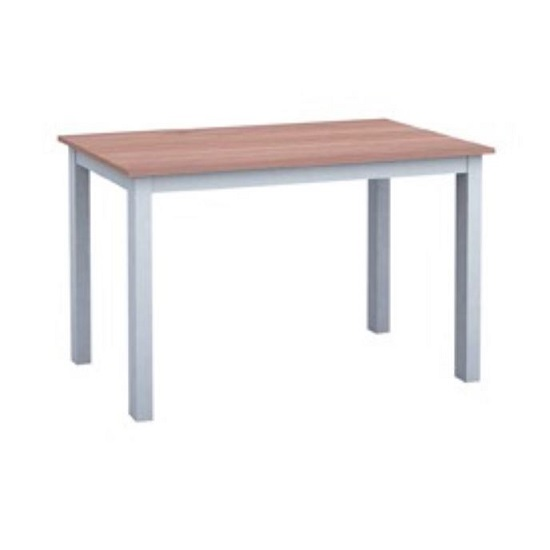 Cornet Wooden Dining Table In Grey And Oak Finish_1