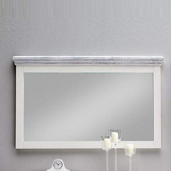Corrin Wooden Large Wall Mirror Rectangular In White_1