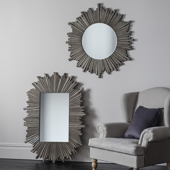 Corsley Starburst Wall Mirror Rectangular In Grey Weathered_3