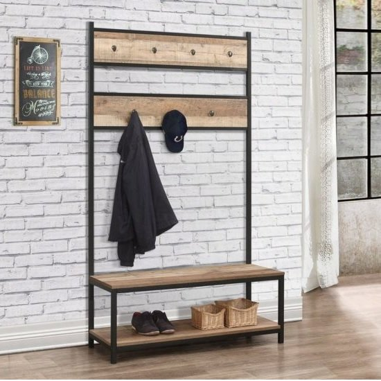 Declutter your hallway great with our shoe racks and storage benches