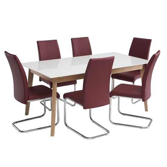 Red Leather Dining Room Chairs Shop For Cheap Tables And Save Online