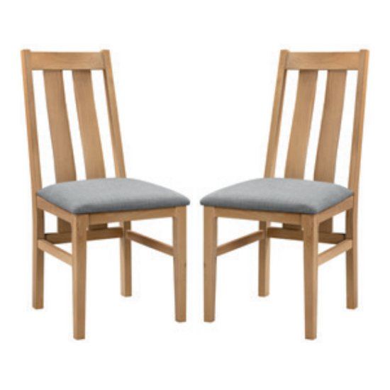 Cotswold Oak Wooden Dining Chair In Pair_1